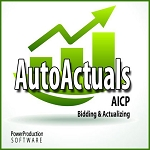 AutoActuals AICP Bidding & Actualizing Software