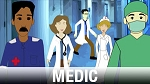 Medic Character Art Library