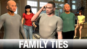 Family Ties Character Art Library